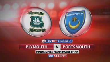 Plymouth 3-0 Portsmouth