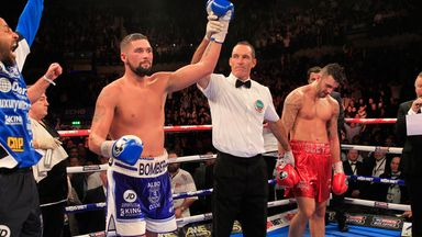 Tony Bellew: Finished strongly to earn the verdict from two judges