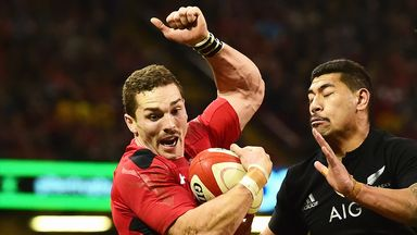 George North suffered a blow to the head last weekend