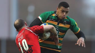 Saints centre Luther Burrell