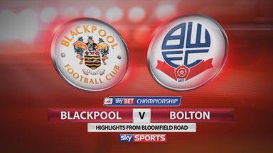 Blackpool 1-1 Bolton
