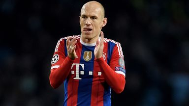 Arjen Robben: Happy to be back in action