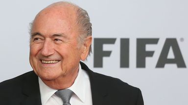 Sepp Blatter: Intends to run for a fifth term as president of world governing body FIFA