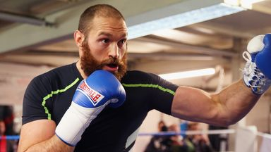 Tyson Fury: Will look to use his weight advantage
