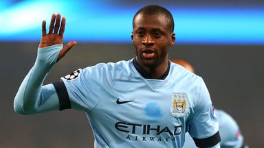 Yaya Toure: Needs to return to his best form