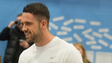Danny Ings launches the Danny Ings Disability Project