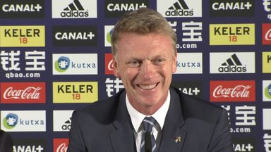 David Moyes will take charge of Real Sociedad for the first time this weekend