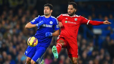 Diego Costa scored his 11th Premier League goal for Chelsea