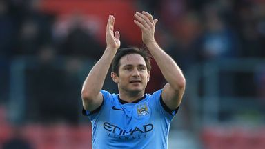 Frank Lampard has impressed since joining Manchester City on loan