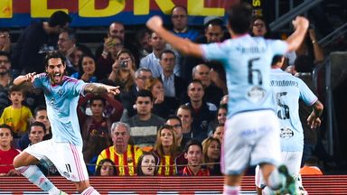 Celta were in joyous mood on Saturday evening