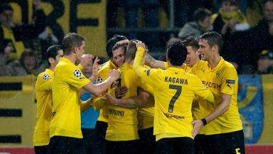 Borussia Dortmund: Won their first league game since August.