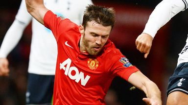 Michael Carrick: United star remains hopeful of a bid for the title