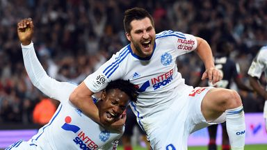 Michy Batshuayi (l) and Andre-Pierre Gignac were both on target