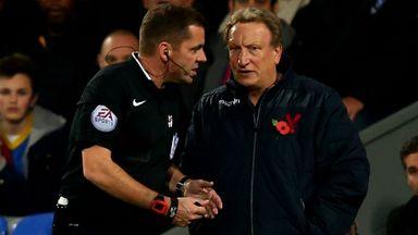 Crystal Palace boss Neil Warnock warned by chairman Steve Parish