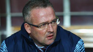 Paul Lambert manager of Aston Villa