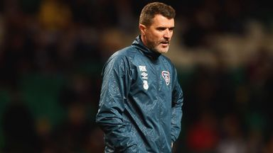 Roy Keane, assistant manager of the Republic of Ireland