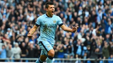 Aguero has the best minutes-per-goal rate of any player in Premier League history.