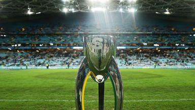 New teams will be competing for the Super Rugby trophy this year as Andy Marinos takes charge