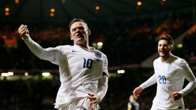 Wayne Rooney has had an eventful year with England