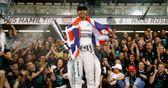 Hamilton overwhelmed with joy