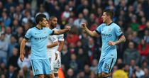 Sergio Aguero and Stevan Jovetic: Both available for City