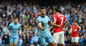 All the best pictures from the Super Sunday action in the Barclays Premier League