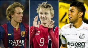 Gallery: TEAMtalk conclude their countdown of the top 50 wonderkids in football today