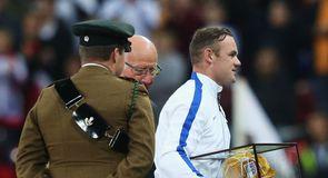 England v Slovenia photo gallery