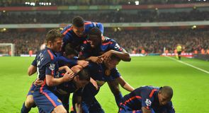 All the best pictures from Saturday's matches in the Barclays Premier League