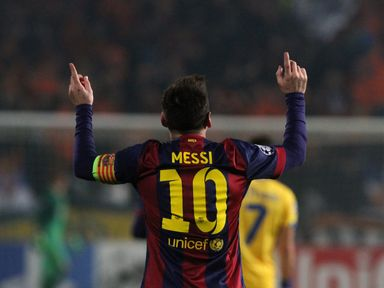 Lionel Messi is now the Champions League's record goalscorer