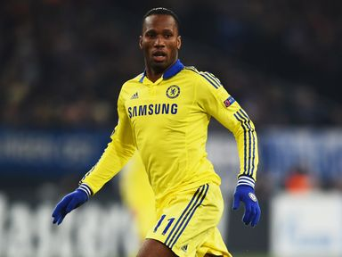 Didier Drogba: Sidelined with an ankle injury