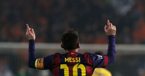 Lionel Messi: Now the record goalscorer in the Champions League
