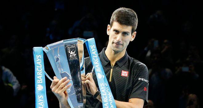 ATP World Tour Finals: Novak Djokovic takes title after Roger Federer pulls out injured