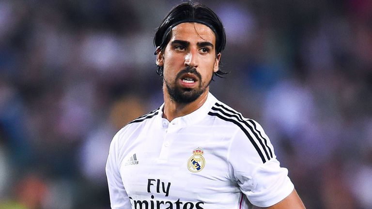 Sami Khedira: Won't leave Real Madrid in January