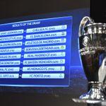UCL last-16 draw