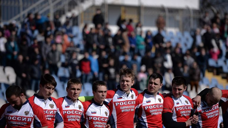 Russian Federation  take Romania's place in Ireland's Rugby World Cup pool after investigation