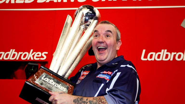 Phil Taylor last won the title in 2013 when he beat MvG