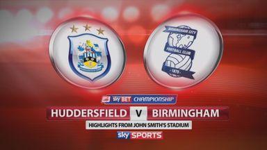 Huddersfield 0-1 Birmingham