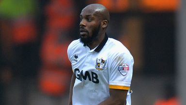 Dany N'Guessan: Handed new Port Vale deal