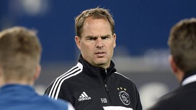 Frank de Boer's side are set to finish second behind champions PSV