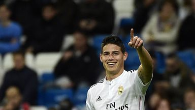 James Rodriguez: Unlikely to make Club World Cup