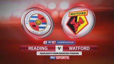 Reading 0-1 Watford
