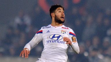 Nabil Fekir: Scored Lyon's goal