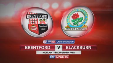 Brentford 3-1 Blackburn