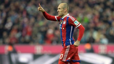 Arjen Robben: On the scoresheet for Bayern