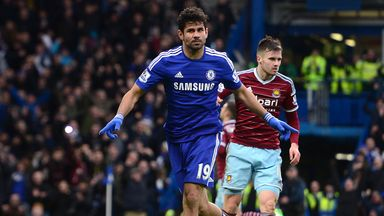 Diego Costa will be a key man for Chelsea when they travel to the south coast to face Southampton.