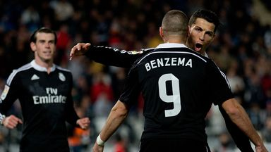Ronaldo and Benzema starred for Real