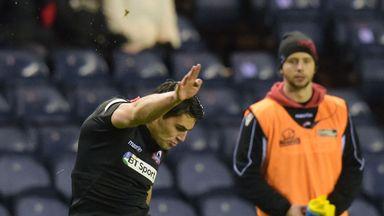 Sam Hidalgo-Clyne: Scored a try as well as kicking 20 points for Edinburgh