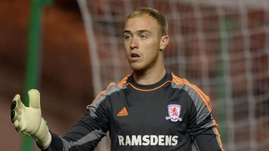 Jason Steele: Heading for Blackburn on a permanent deal