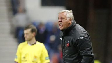 Jim Jefferies: Resigning as Dunfermline manager